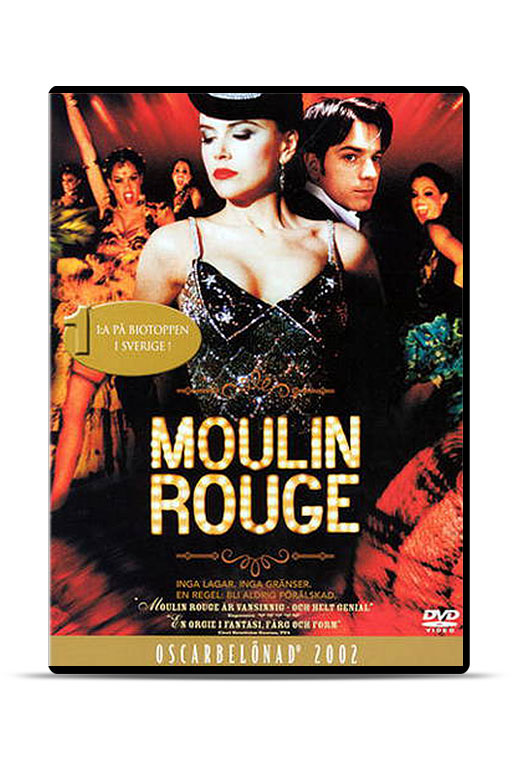Film: Moulin Rouge (DVD) - 1861
