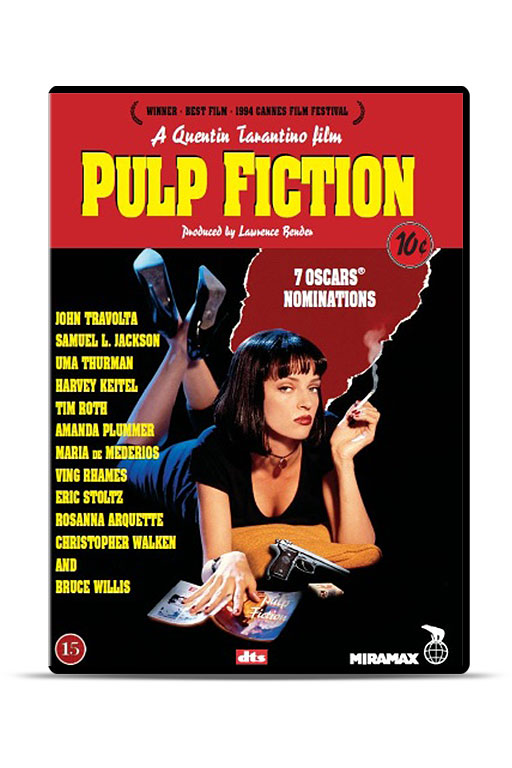 Film: Pulp Fiction (DVD) - 1872