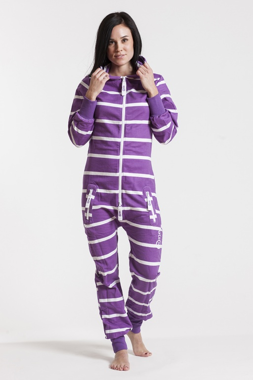 Slimfit - Purple, Jumpsuit - 4331