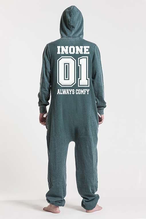 Burned Green, College 01, Jumpsuit - 4598