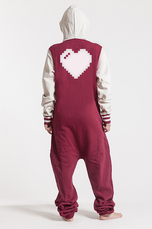 College Red, Heart, Jumpsuit - 4913