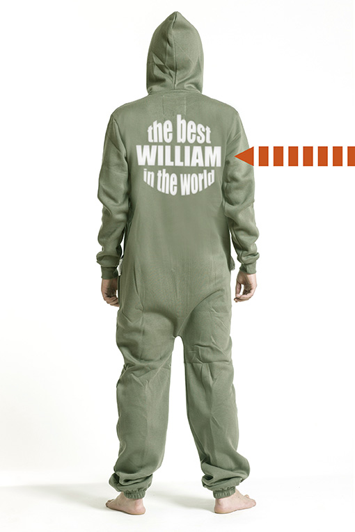 Comfy Armygreen, The Best, Onesie - 5292