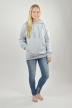 Hoodie Grå, I Want You - 2519