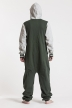College - Green, Jumpsuit - 4231