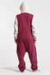 College - Red, Jumpsuit - 4235