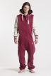 College - Red, Jumpsuit - 4238