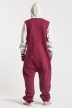 College - Red, Jumpsuit - 4239