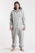 Comfy - Grey & Silver, Jumpsuit - 4278