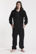 Fleece - Black, Jumpsuit - 4310