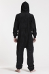 Fleece - Black, Jumpsuit - 4311