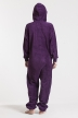 Fleece - Purple, Jumpsuit - 4315