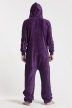 Fleece - Purple, Jumpsuit - 4319