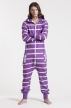 Slimfit - Purple, Jumpsuit - 4335