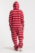 Striped - Red, Jumpsuit - 4348