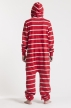 Striped - Red, Jumpsuit - 4352