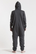 Comfy - Dark Grey & Silver, Jumpsuit - 4410