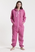 Comfy Pink, Ryggtryck, Jumpsuit - 4542