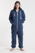Comfy Navy, Ryggtryck, One Piece Jumpsuit - 4560