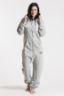 Comfy Grey & Silver, Hashtag #1, Jumpsuit - 4963