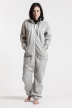 Comfy Grey, The Boss, Jumpsuit - 5012