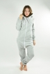 Comfy Grey, Love Lips, Jumpsuit - 830