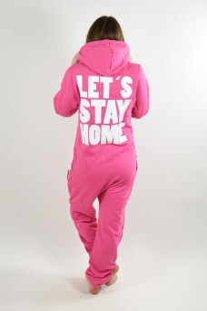 Comfy Pink, Stay Home, Jumpsuit - 1206