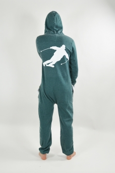 Burned Green, Skier, Jumpsuit - 1504