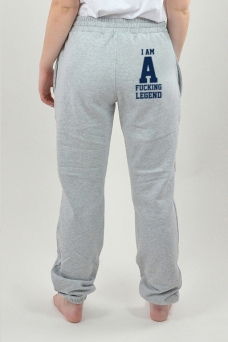 Sweatpants Grå, I Am - 3098
