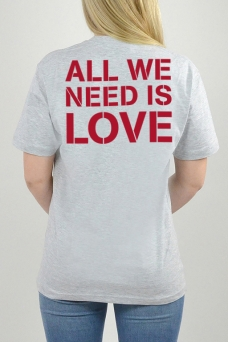 T-Shirt Grå, All Wee Need - 3147
