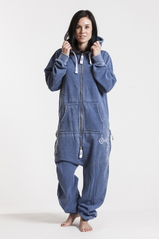 Burned - Blue, Onesie Jumpsuit - 4186