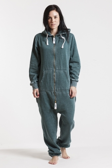 Burned - Green, Onesie Jumpsuit - 4194