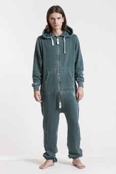 Burned - Green, Onesie Jumpsuit - 4198