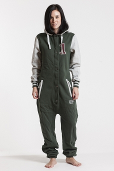 College - Green, Jumpsuit - 4226