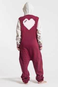 College Red, Heart, Jumpsuit - 4914