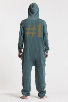 Burned Green, Hashtag #1, Jumpsuit - 5099