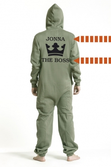 Comfy Armygreen, The Boss, Jumpsuit - 5301