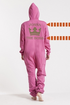 Comfy Pink, The Boss, Jumpsuit - 5319