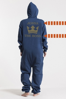Comfy Navy, The Boss, Jumpsuit - 5329