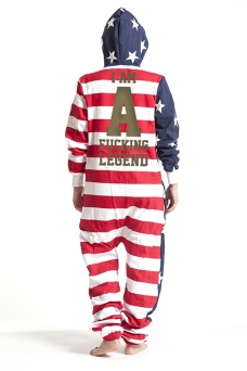 United States, I Am, Jumpsuit - 5438