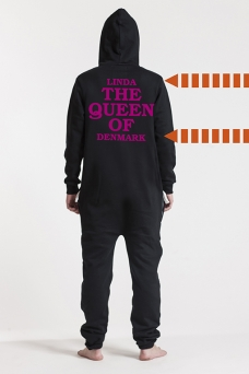 Comfy Black, The Queen, Jumpsuit - 5726