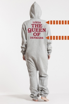 Comfy Grey, The Queen, Jumpsuit - 5754